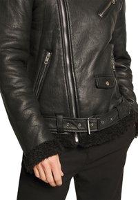 Be Edgy - KILIAN - Leather jacket - black - 6