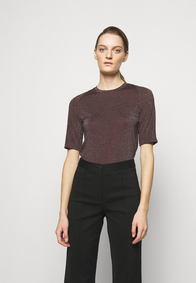 UBA - T-shirt basique - brown