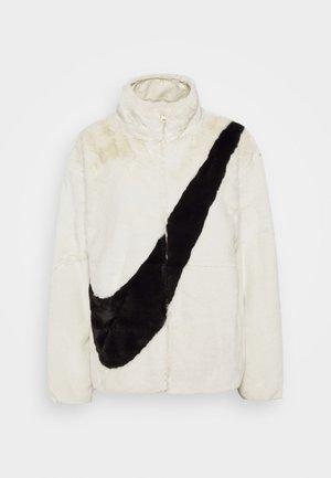 Zimní bunda - fossil/black