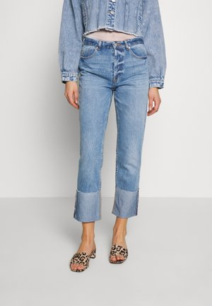 ONLERICA LIFE FOLD - Jean droit - medium blue denim