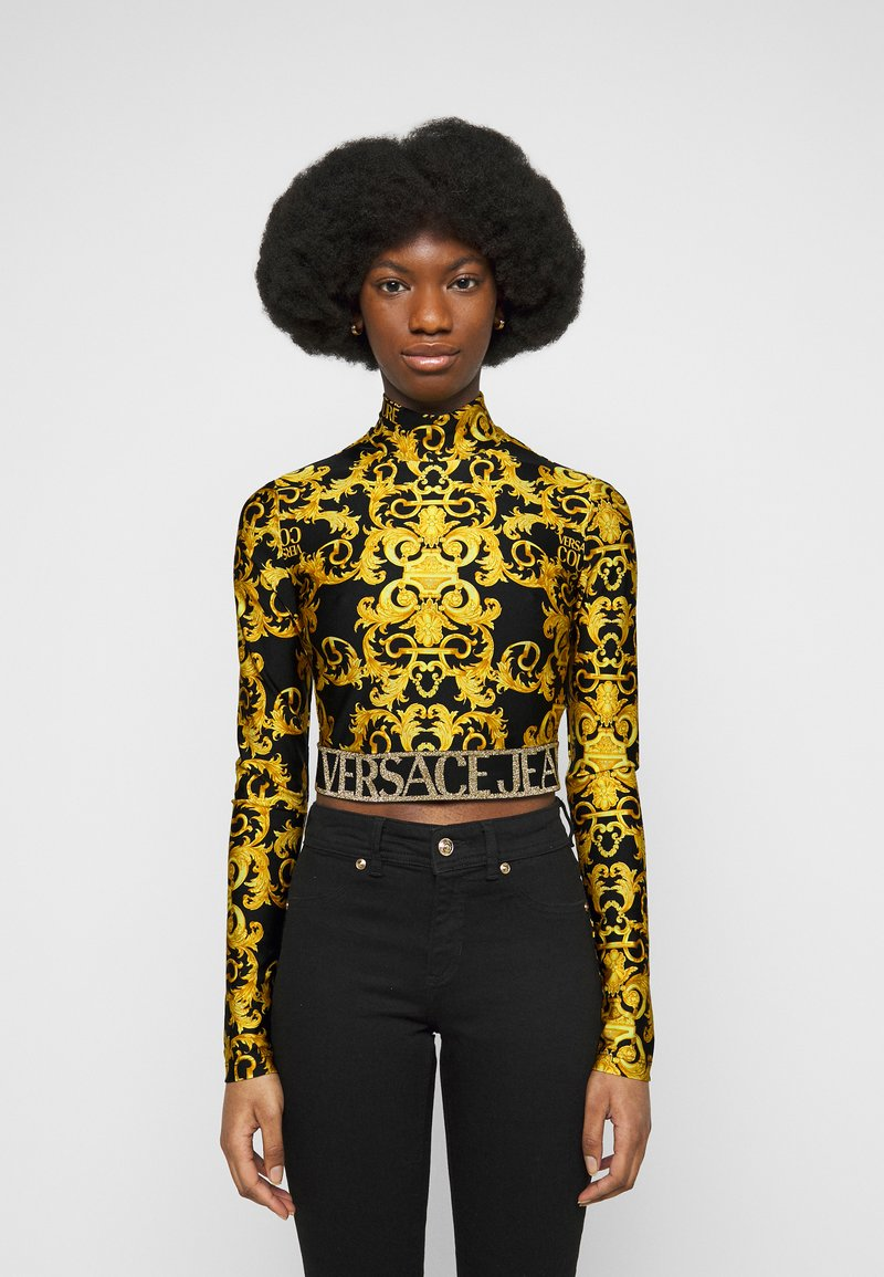 Versace Jeans Couture - LADY  - Long sleeved top - black