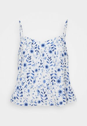 SWING PEPLUM CAMI  - Top - new off white