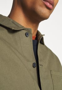 Burton Menswear London - LONG SLEEVE POCKET - Shirt - khaki - 7