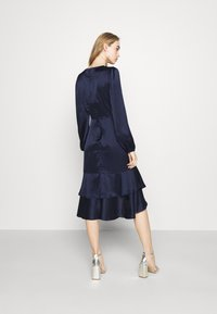Nly by Nelly - EYES ON ME RUCHED DRESS - Cocktail dress / Party dress - navy - 2