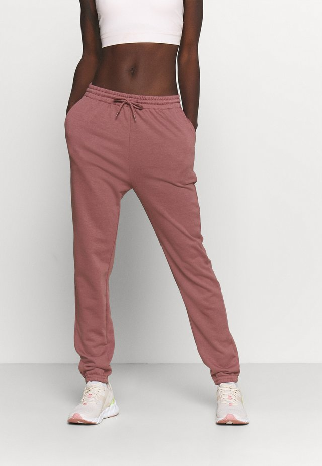 Tracksuit bottoms - rose brown