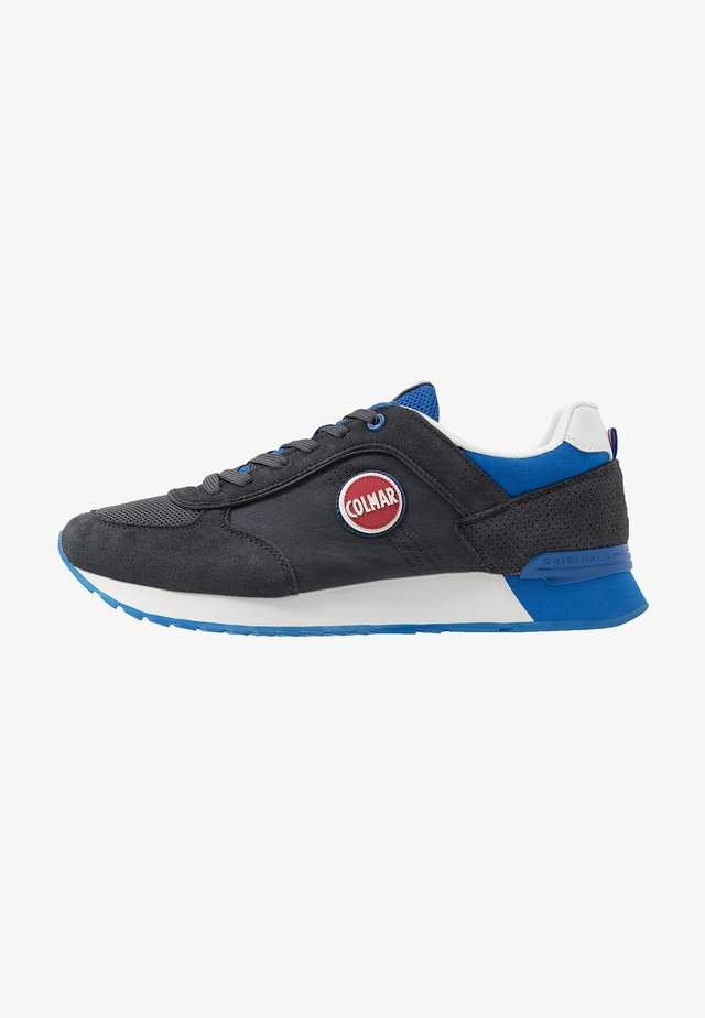 TRAVIS COLORS - Sneaker low - anthracite/blue