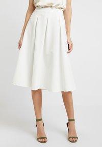Anna Field - A-line skirt - cloud dancer - 0