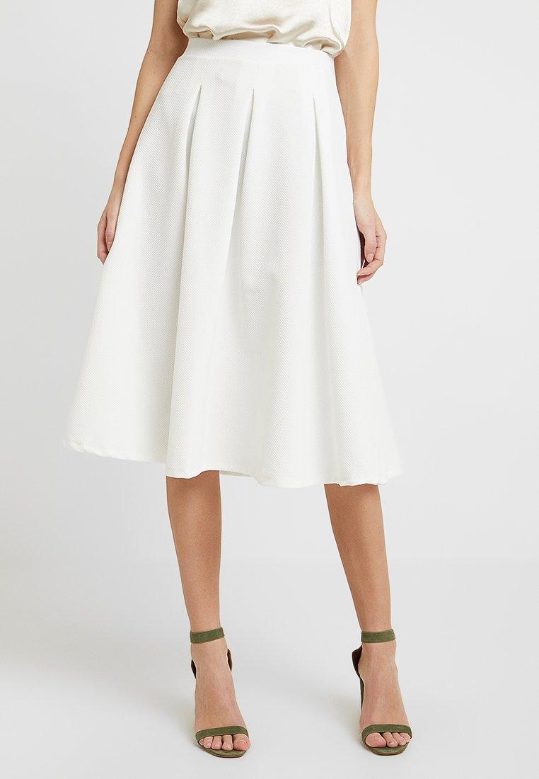 Anna Field - A-line skirt - cloud dancer