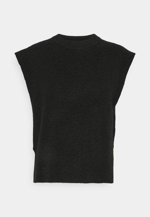 YASALVA VEST - T-shirt basique - black