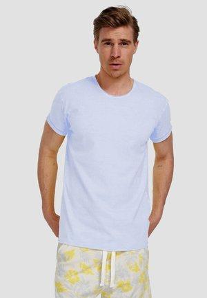 Basic T-shirt - heather blue