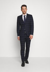 Ben Sherman Tailoring - CHECK SUIT - Completo - dark blue - 1