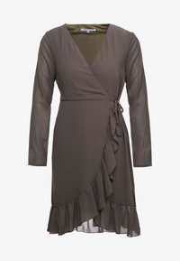 FLORENCE DRESS - Day dress - kaki