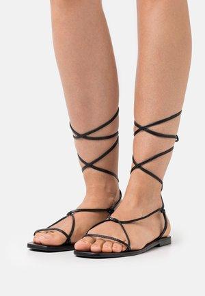 YASSTRAPPI FLAT - Sandals - black