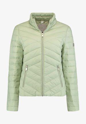Winter jacket - hellgrün