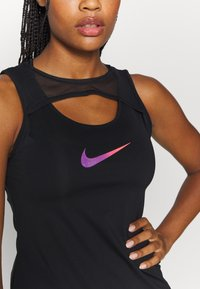 Nike Performance - TANK RUNWAY - Top - black - 6