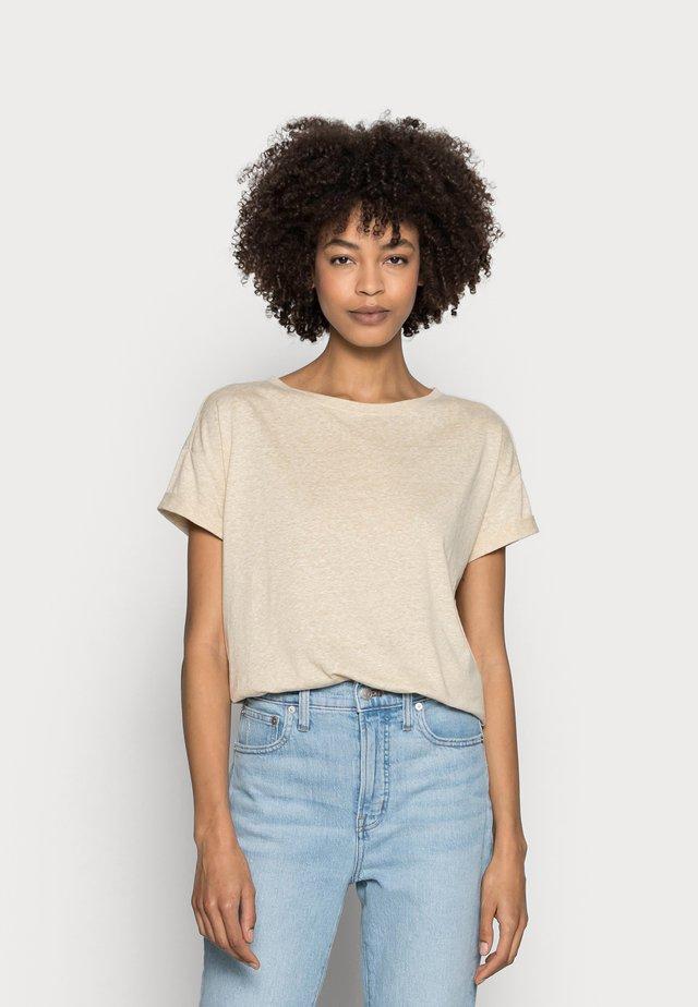 CLOUDY - T-Shirt basic - sand