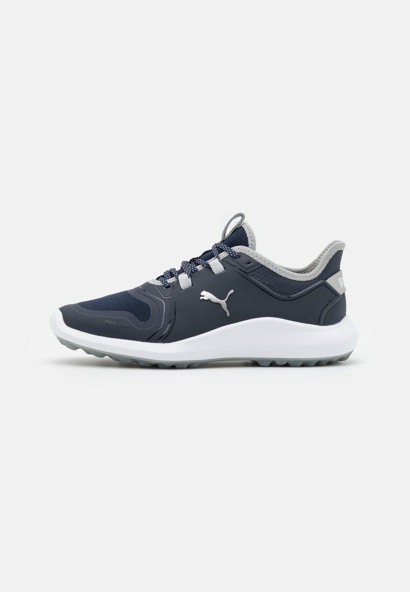 Puma Golf - IGNITE FASTEN8 - Golf shoes - navy blazer/silver/high rise