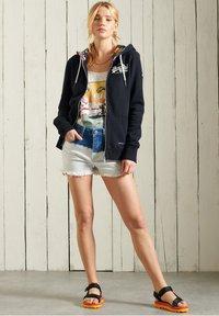 Superdry - VINTAGE LOGO - Zip-up sweatshirt - dark blue - 0