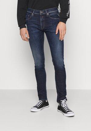 JONDRILL AGED - Slim fit jeans - dark blue