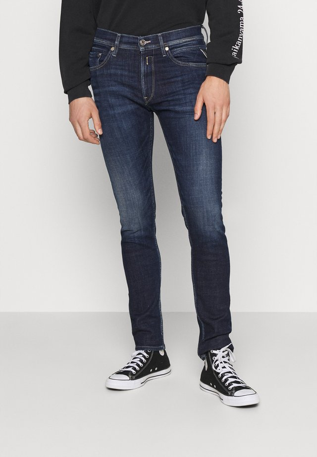 JONDRILL AGED - Jeans slim fit - dark blue