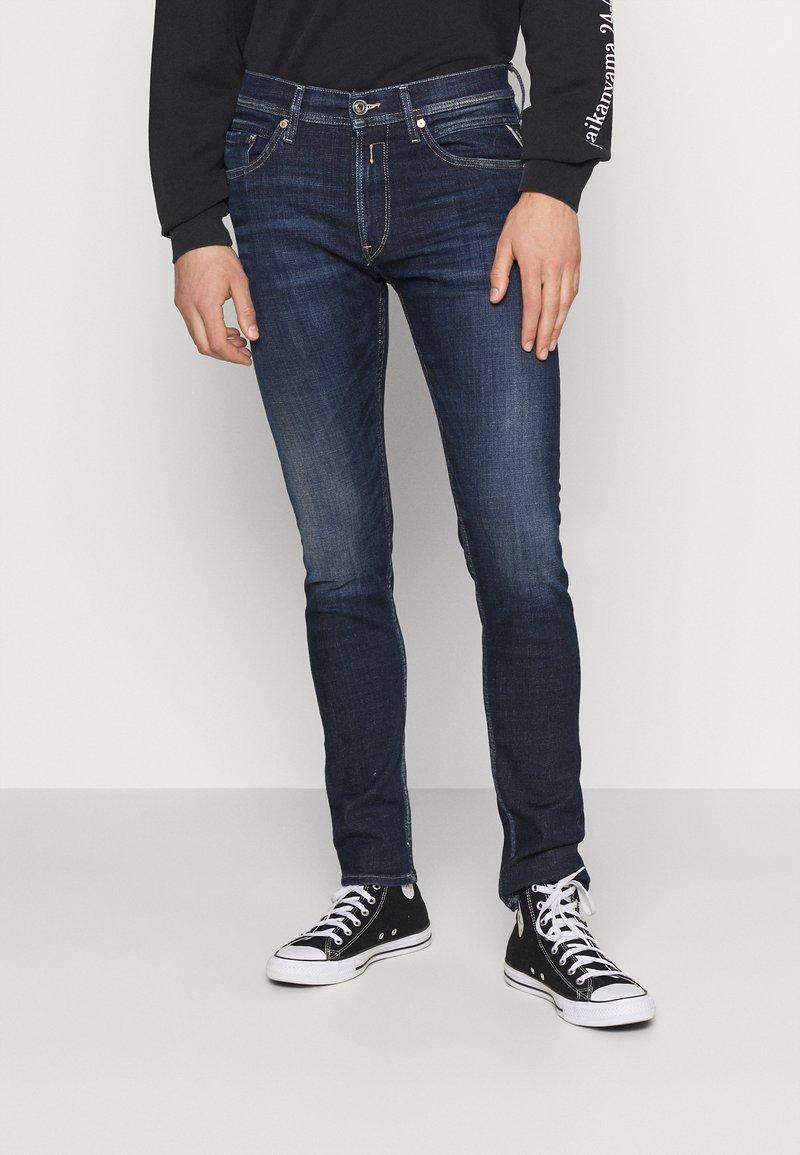Replay - JONDRILL AGED - Slim fit jeans - dark blue