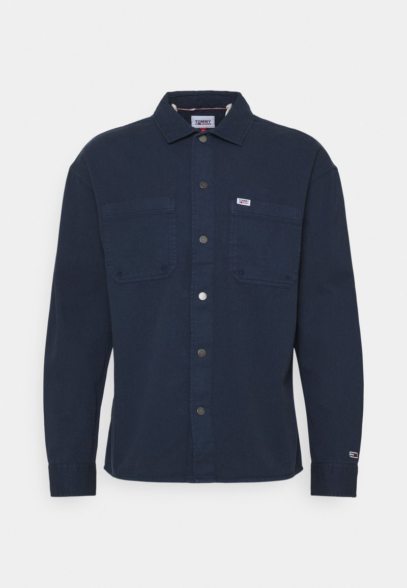 Tommy Jeans - LIGHTWEIGHT OVERSHIRT - Skjorter - blue