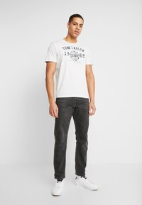 TOM TAILOR - BASIC T-SHIRT 3 PACK - Print T-shirt - blue - 1
