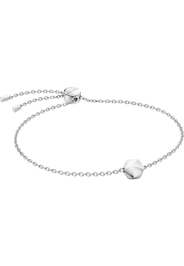 CALVIN KLEIN DAMEN ARMBAND SIDE EDELSTAHL - Bracelet - silver