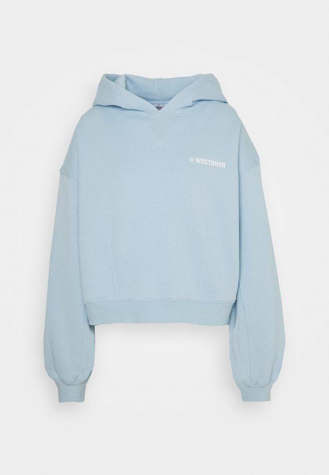 STYLE HOODIE CORBY - Sweatshirt - sky blue