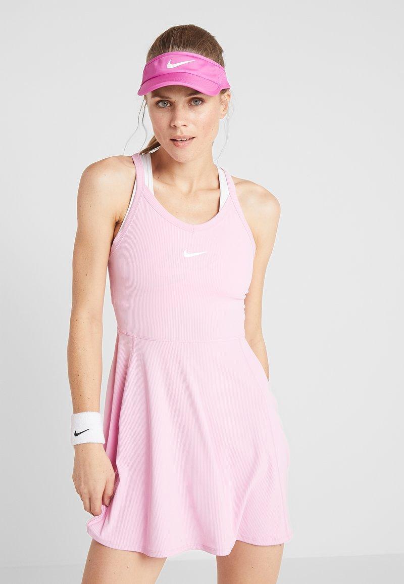 Nike Performance - DRY DRESS - Sports dress - pink rise/white