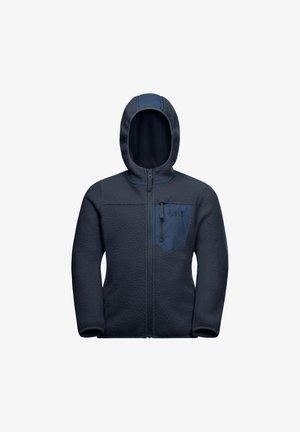 ICE CLOUD HOOD JACKET K - Fleece jacket - night blue