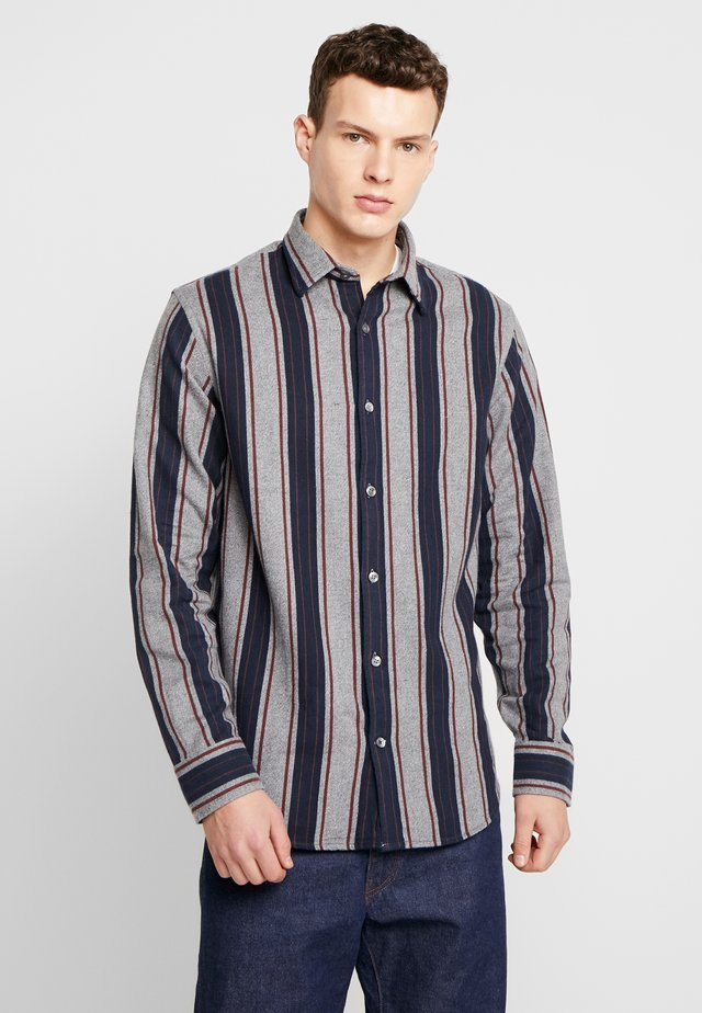 ERRICO - Skjorte - navy stripe