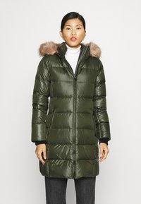 Calvin Klein - ESSENTIAL REAL COAT - Down coat - dark olive - 0