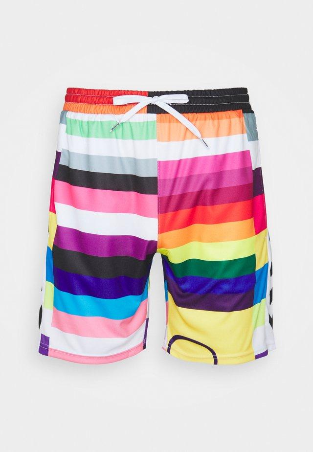 HMLFLAG PRO SHORTS - Pantalón corto de deporte - multicolor