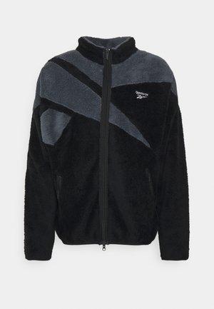 VECTOR - Fleece jacket - black