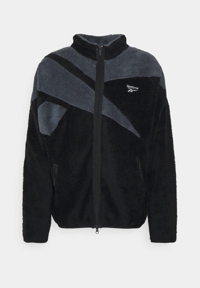 Reebok Classic - VECTOR - Fleece jacket - black