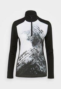FAULKTON - Fleece jumper - black