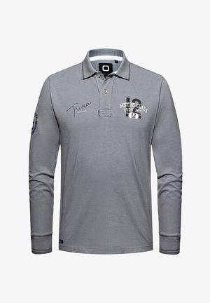 Polo shirt - washed grey