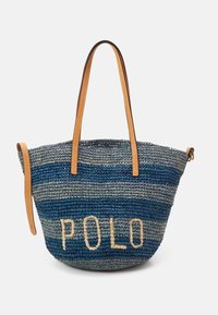 Polo Ralph Lauren - STRIPES - Tote bag - blue/multi - 1