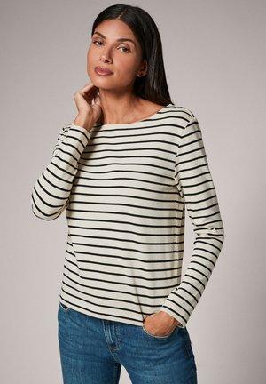 Long sleeved top - marine stripes