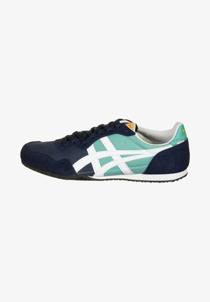 SERRANO - Sneakers laag - techno cyan/white