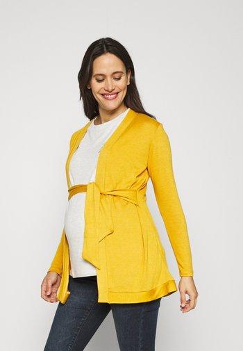 MILONGA - Kardigan - yellow mustard