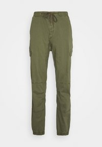 INDICODE JEANS - LEVI - Cargo trousers - army - 4
