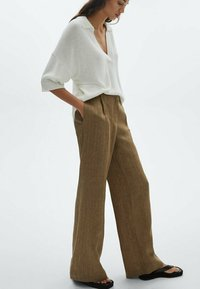Massimo Dutti - Trousers - brown - 0