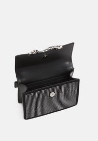 KARL LAGERFELD - SEVEN SPARKLE MINI - Handbag - black - 3