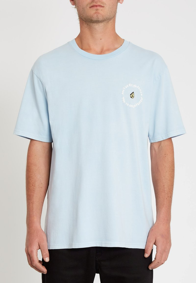 Volcom - OZZY WRONG S/S TEE - Print T-shirt - aether_blue