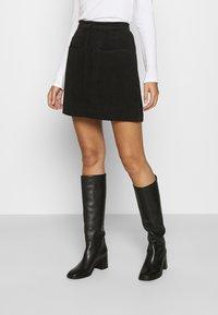 Second Female - BOYAS NEW SKIRT - A-line skirt - black - 0
