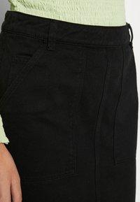 Benetton - SKIRT - Pencil skirt - black - 4