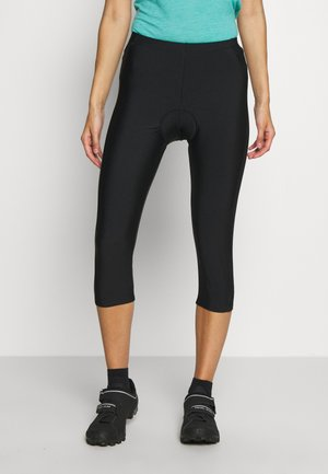 WOMAN PANT 3/4 BIKE - 3/4 sports trousers - nero