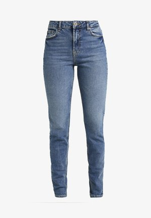 PCLEAH MOM - Jeans Skinny Fit - medium blue denim